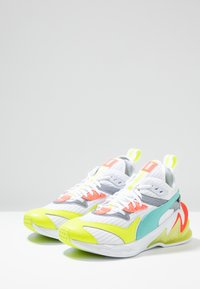 Puma - LQDCELL ORIGIN - Zapatillas de running neutras - white/yellow alert - 2