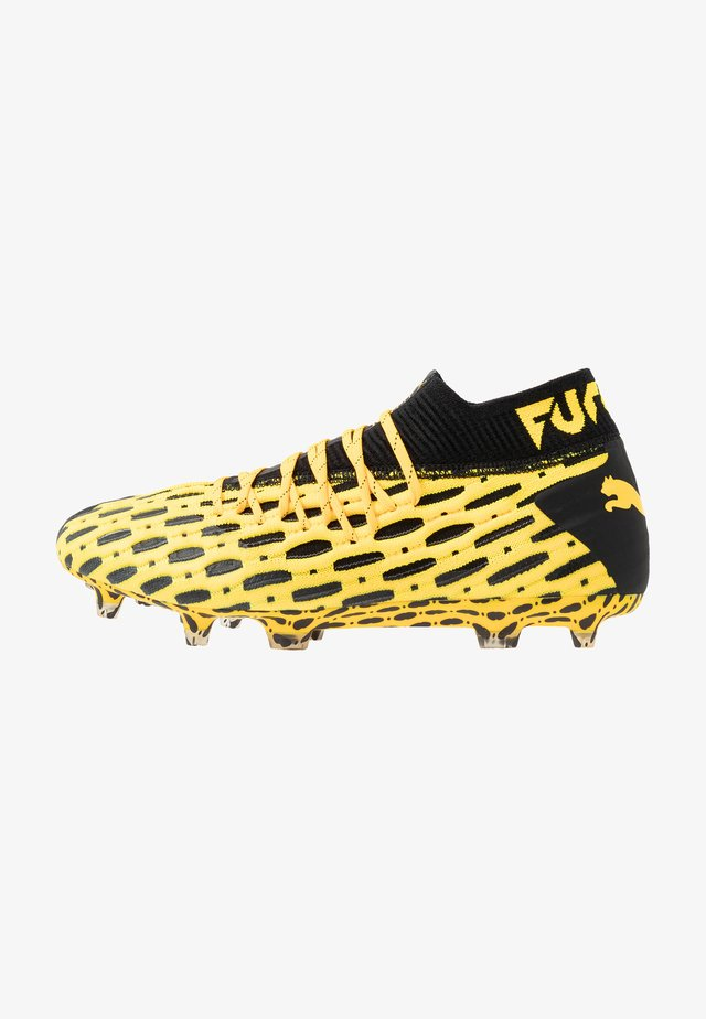 FUTURE 5.1 NETFIT FG/AG - Kopačky lisovky - ultra yellow/black