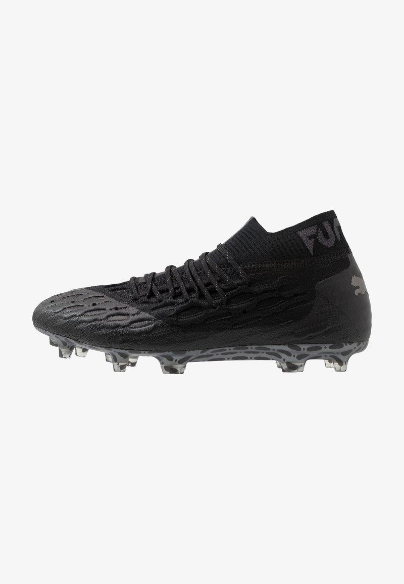 Puma - FUTURE 5.1 NETFIT FG/AG - Voetbalschoenen met kunststof noppen - black/asphalt