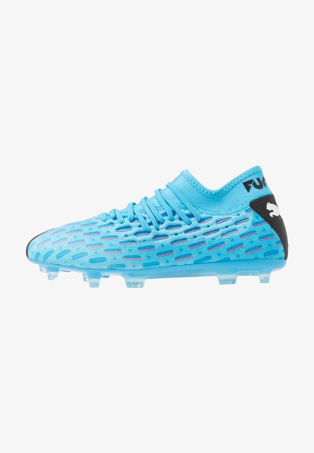 FUTURE 5.2 NETFIT FG/AG - Voetbalschoenen met kunststof noppen - luminous blue/nrgy blue/black/pink alert