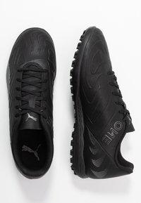 Puma - ONE 20.4 TT - Korki Turfy - black/asphalt - 1