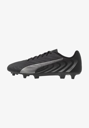 ONE 20.4 FG/AG - Chaussures de foot à crampons - black/asphalt