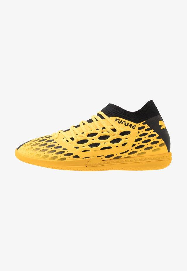 FUTURE 5.3 NETFIT IT - Zaalvoetbalschoenen - ultra yellow/black