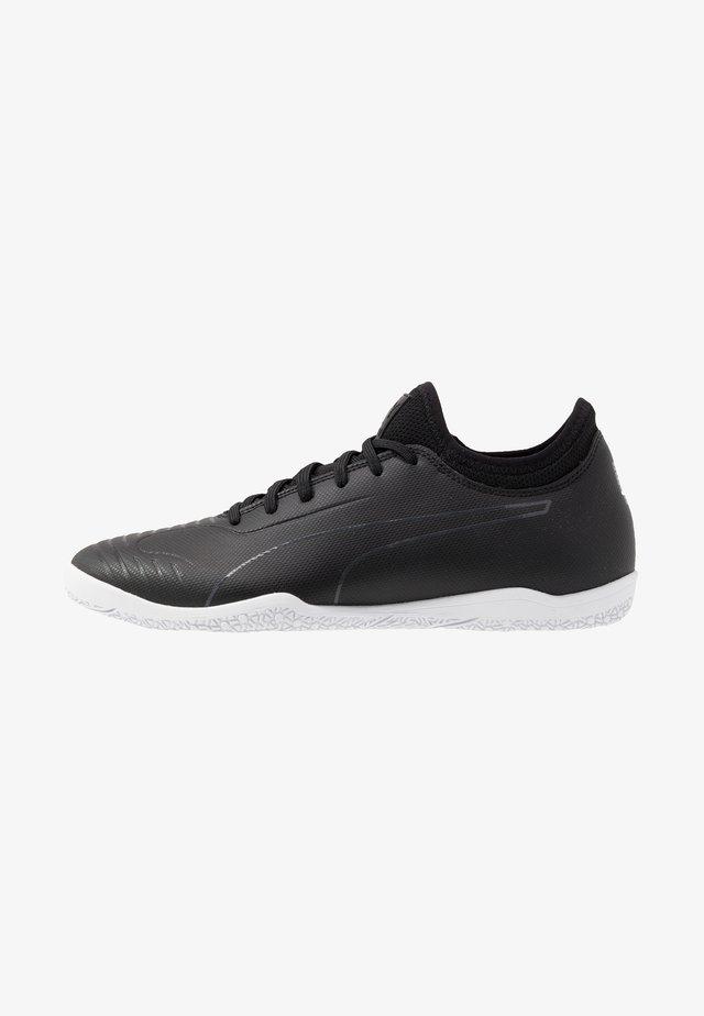 365 SALA 2 - Indoor football boots - black/asphalt/white