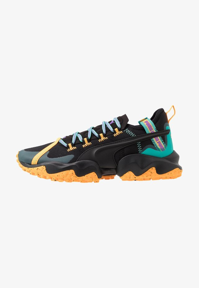 ERUPT TRL - Trail running shoes - black/blue turquoise