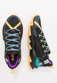 Puma - ERUPT TRL - Zapatillas de trail running - black/blue turquoise - 1