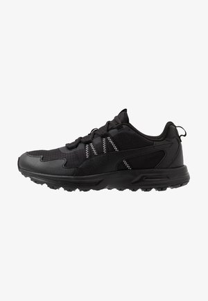 ESCALATE - Trail running shoes - black/white