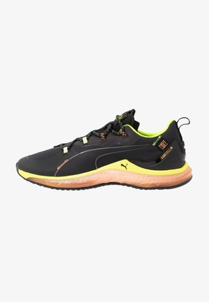 LQDCELL HYDRA - Treningssko - black/yellow alert/fizzy orange