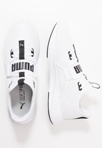 Puma - PERSIST XT BREATHE - Obuwie treningowe - white/black - 1