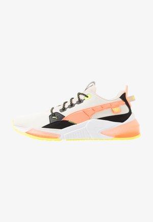 LQDCELL OPTIC FM - Chaussures de running neutres - tapioca/fizzy orange/black