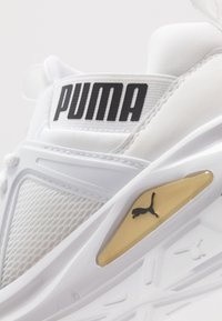 Puma - ENZO 2 - Baskets basses - white/gold/black - 5