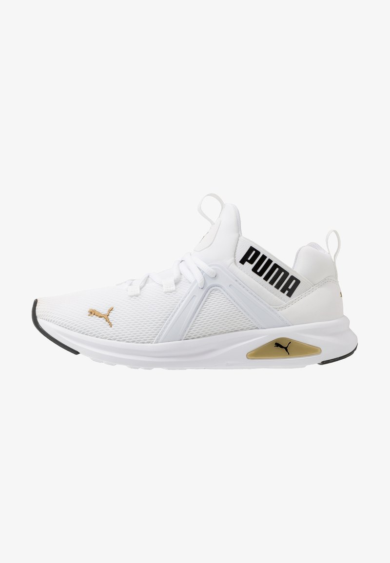 Puma - ENZO 2 - Baskets basses - white/gold/black