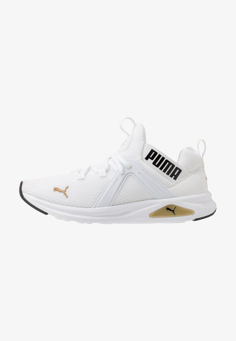 Puma - ENZO 2 - Sneakers - white/gold/black