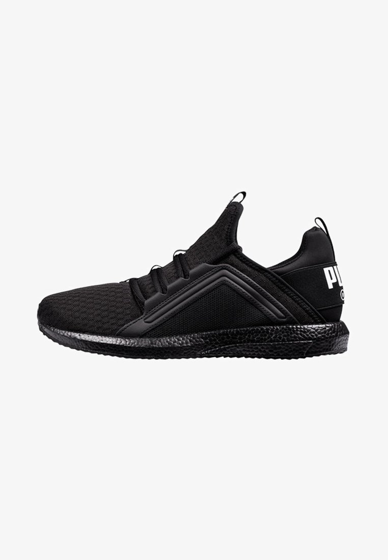 Puma - Neutral running shoes - black/white