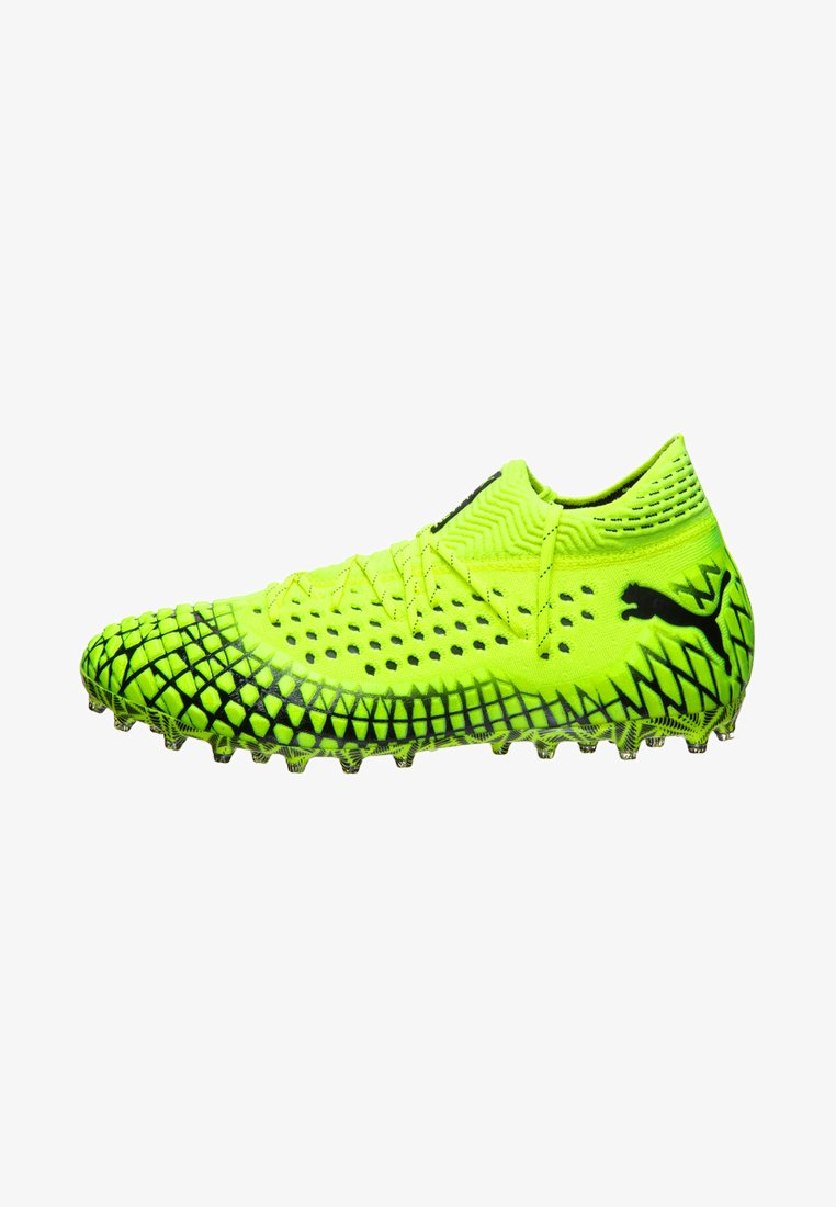 Puma - FUTURE 4.1 NETFIT  - Chaussures de foot à crampons - yellow alert/black