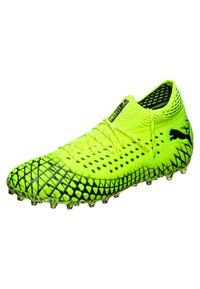 Puma - FUTURE 4.1 NETFIT  - Chaussures de foot à crampons - yellow alert/black - 2