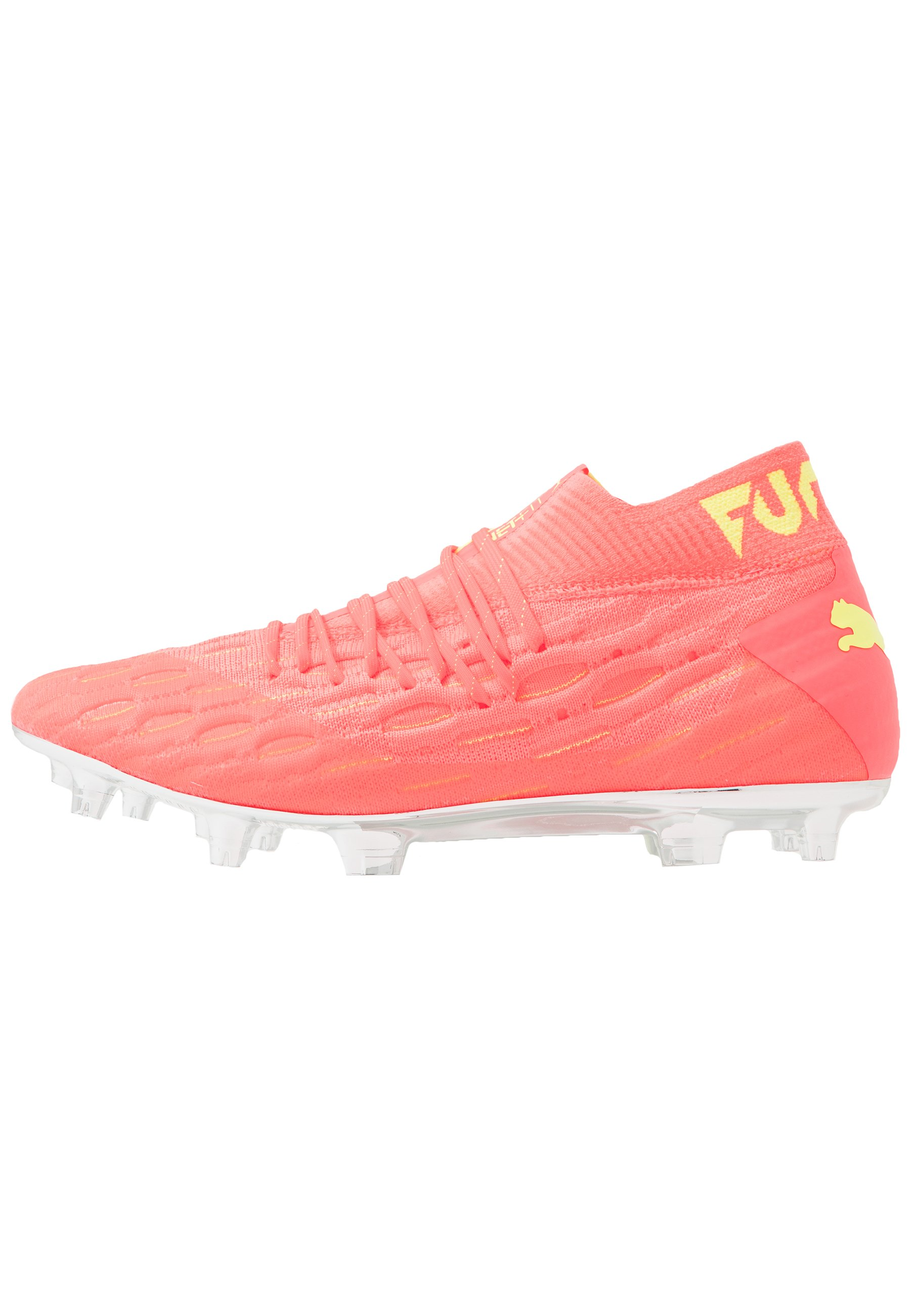 FUTURE 5.1 NETFIT OSG FGAG Chaussures de foot à crampons energy peachfizzy yellow