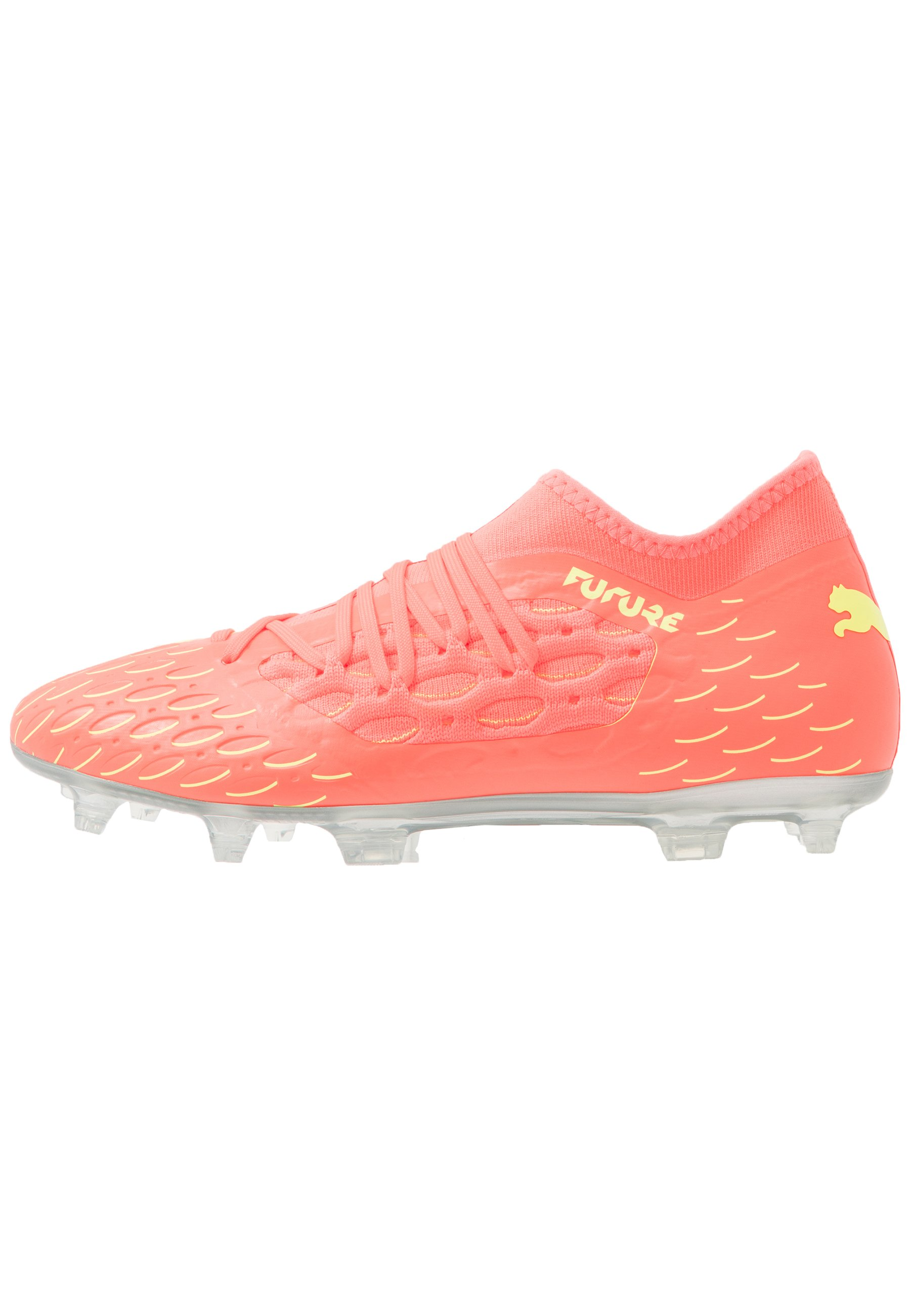 FUTURE 5.3 NETFIT OSG FGAG Chaussures de foot à crampons energy peachfizzy yellow