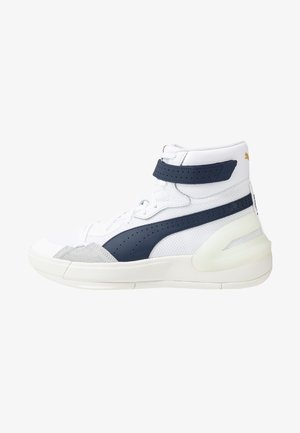 SKY MODERN CORE - Basketball shoes - white/peacot