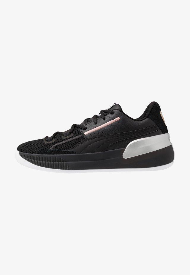 CLYDE HARDWOOD METALLIC - Basketball shoes - black