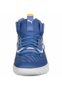 Puma - LEGACY MADNESS - Basketbalschoenen - blue-ultra yellow - 5