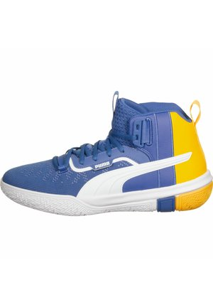 LEGACY MADNESS - Basketball shoes - blue-ultra yellow