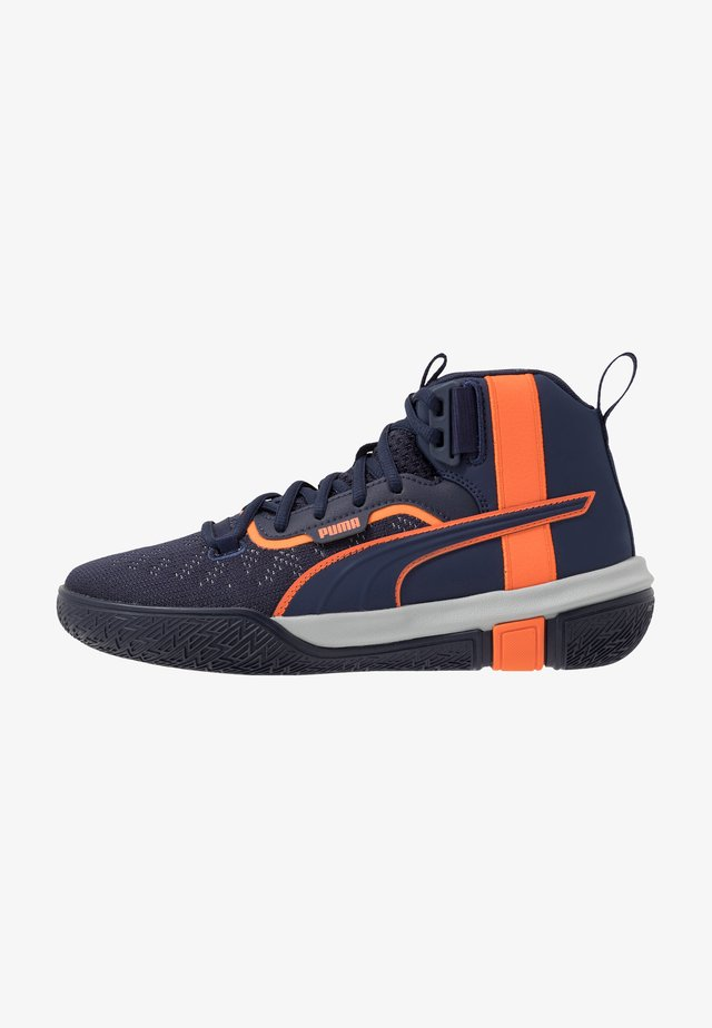 LEGACY MADNESS - Basketballschuh - dark blue/orange