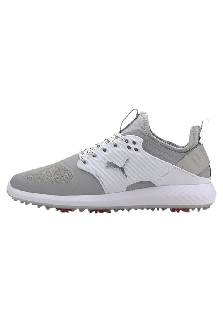 Puma - IGNITE PROADAPT - Golf shoes - high rise/silver-white