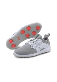 Puma - IGNITE PROADAPT - Golf shoes - high rise/silver-white - 2