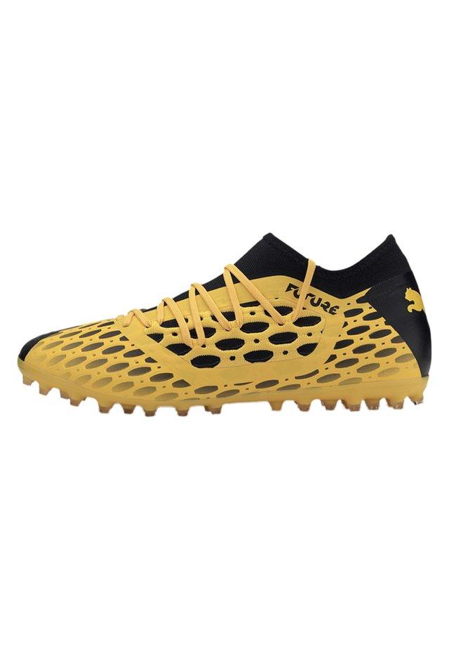 PUMA FUTURE 5.3 NETFIT MG MEN'S FOOTBALL BOOTS MÄNNER - Voetbalschoenen met kunststof noppen - yellow/black
