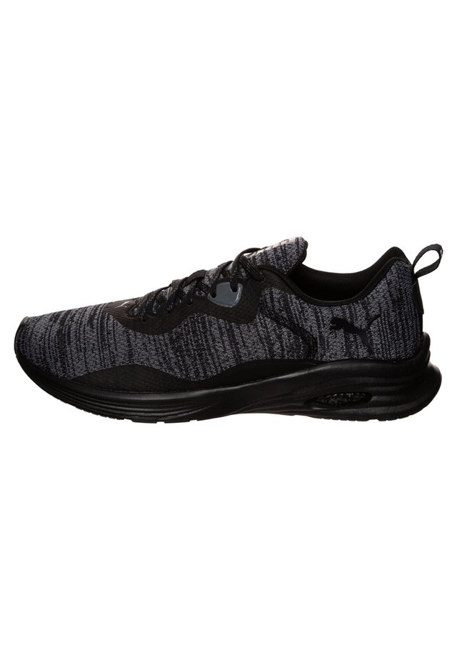 HYBRID FUEGO  - Neutral running shoes - black / castlerock