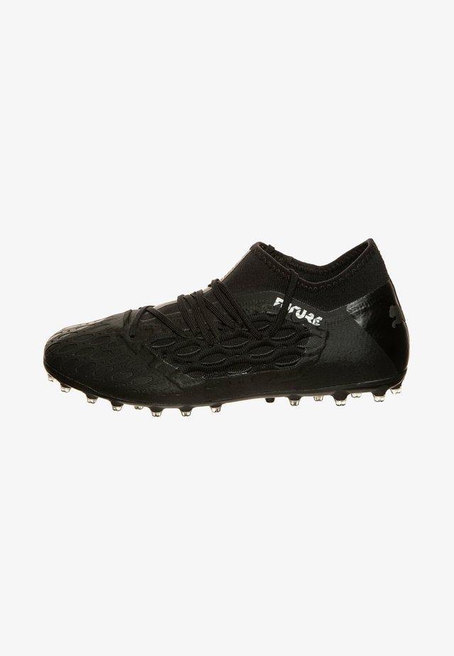 FUTURE NETFIT - Voetbalschoenen met kunststof noppen - puma black/asphalt