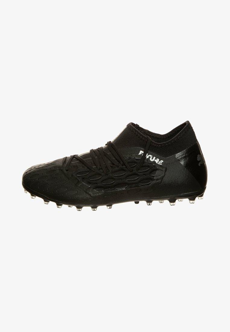 Puma - FUTURE NETFIT - Chaussures de foot à crampons - puma black/asphalt