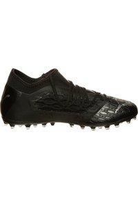Puma - FUTURE NETFIT - Chaussures de foot à crampons - puma black/asphalt - 6