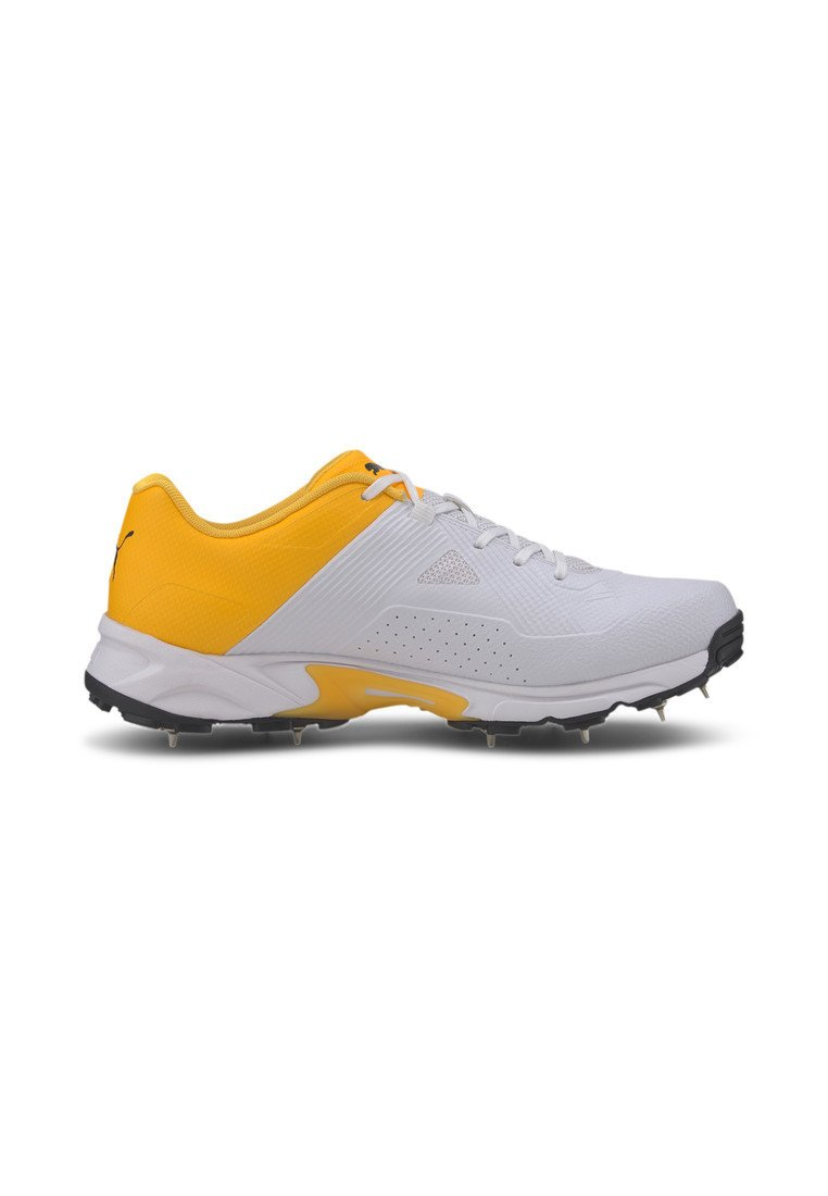 Puma Spike 19.1 Men's Cricket Shoes Male - Sneakers White-black-orange
