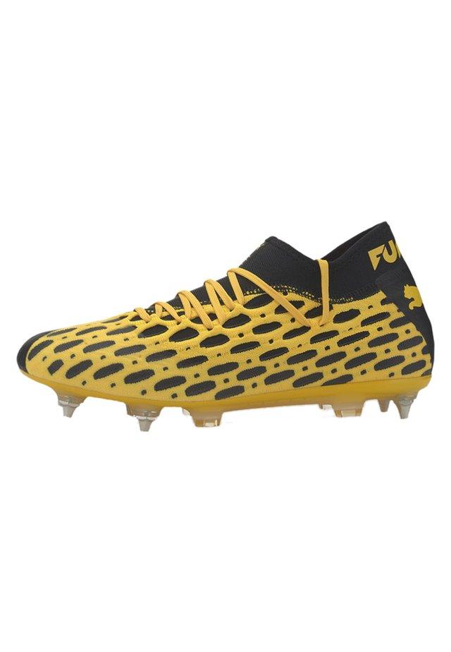 PUMA FUTURE 5.2 NETFIT MXSG MEN'S FOOTBALL BOOTS MALE - Voetbalschoenen met kunststof noppen - ultra yellow-puma black