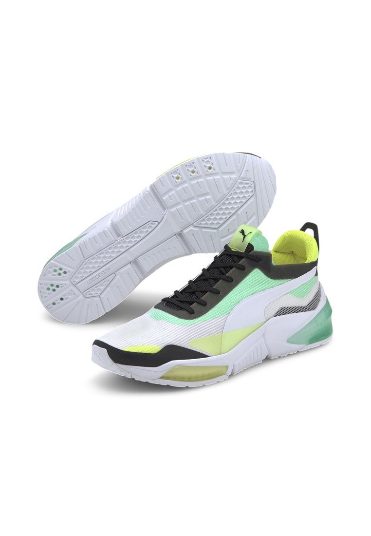 PUMA LQDCELL OPTIC XI RUNNING SHOES MALE Chaussures de running neutres white g glimmer y alert