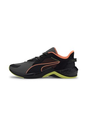 PUMA PUMA X FIRST MILE HYBRID NX OZONE MEN'S RUNNING SHOES MALE - Chaussures de running neutres - puma black-yellow alert