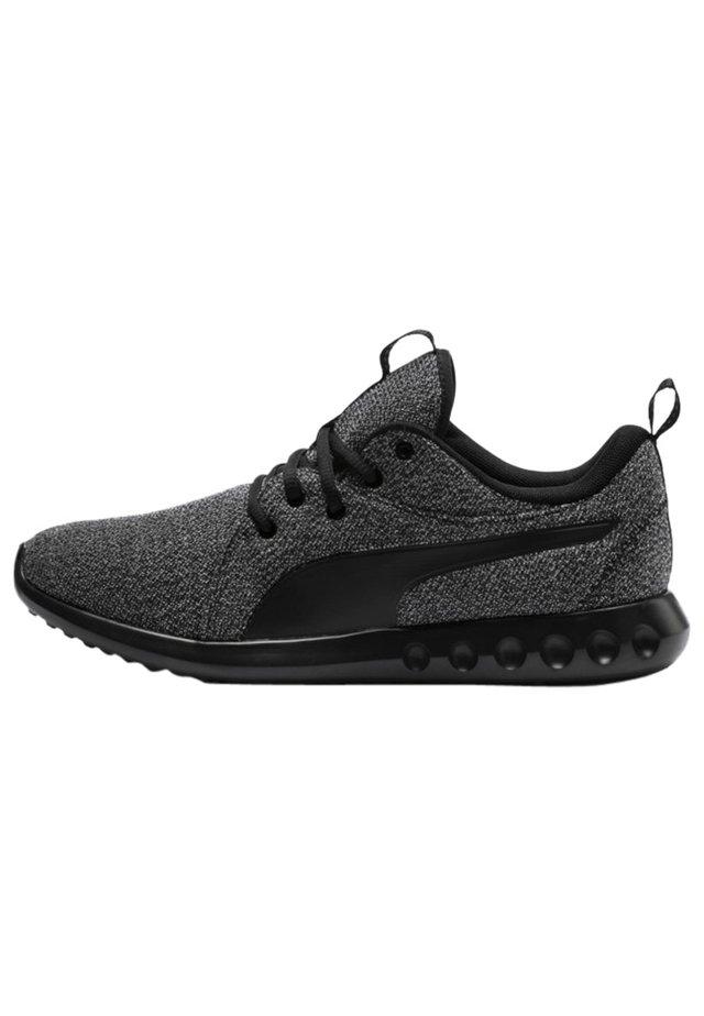 Neutral running shoes - black-black