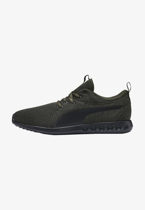 Neutral running shoes - forest night-black