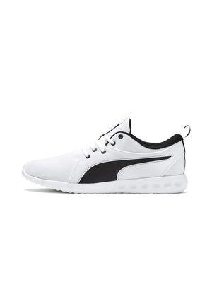 CARSON - Neutral running shoes -  white-metallic gold