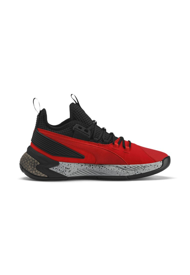 Chaussures de basket high risk red puma black