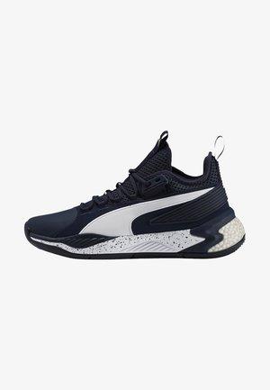Basketball shoes - peacoat-puma white