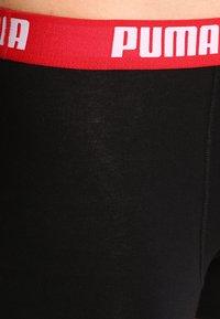Puma - BASIC 2 PACK - Shorty - schwarz-rot/schwarz-blau - 4
