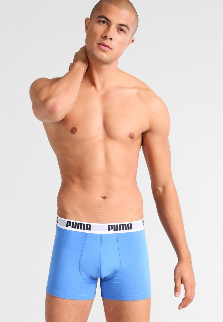 Puma - BASIC 2 PACK - Shorty - blue/grey