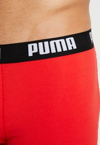 Puma - BASIC 2PACK - Panty - red/black - 4