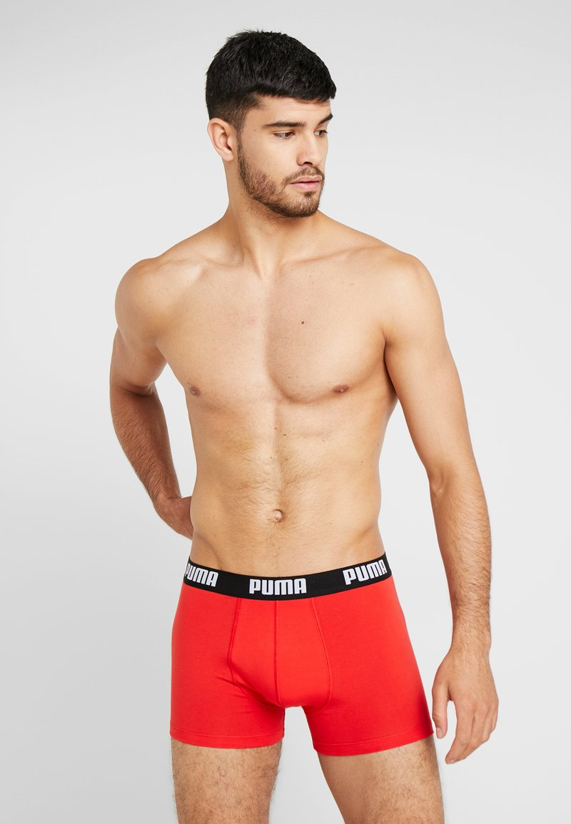Puma - BASIC 2PACK - Panty - red/black