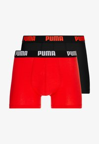 Puma - BASIC 2PACK - Panty - red/black - 3