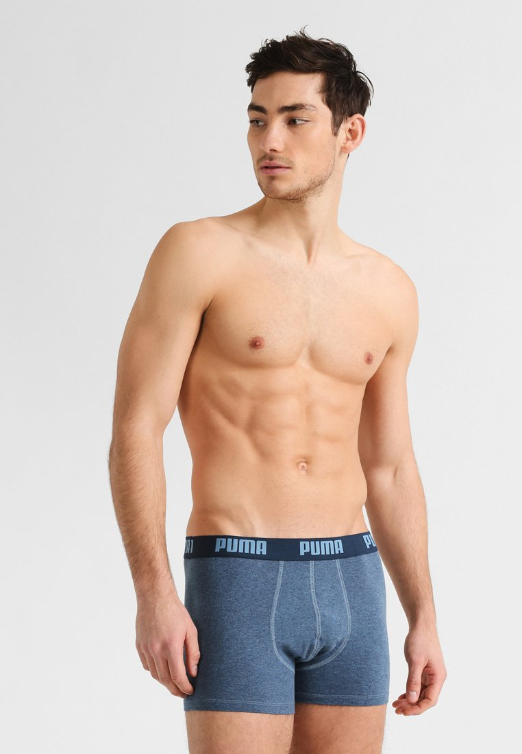 Puma - BASIC 2PACK - Panties - blue