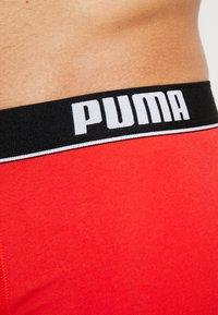 Puma - BASIC SHORTBOXER 2 PACK - Underkläder - red/black - 4